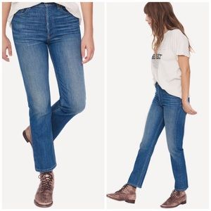 NWT The Great The Straight A Button Fly Jeans